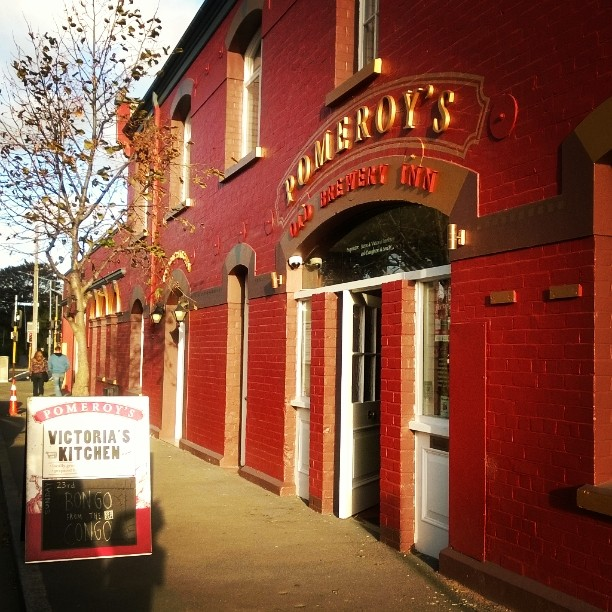 Pomeroy's Old Brewery Inn | NZ craft beer