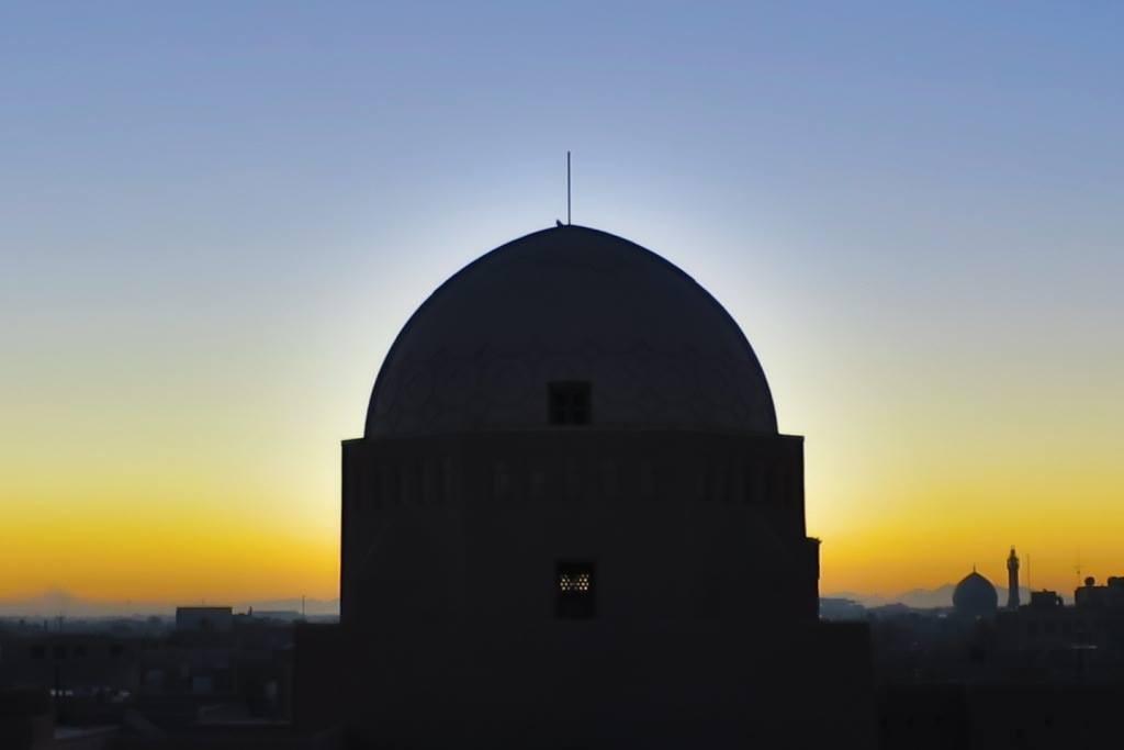 Yazd sunrise
