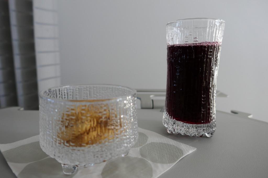 Finnair A320 snack
