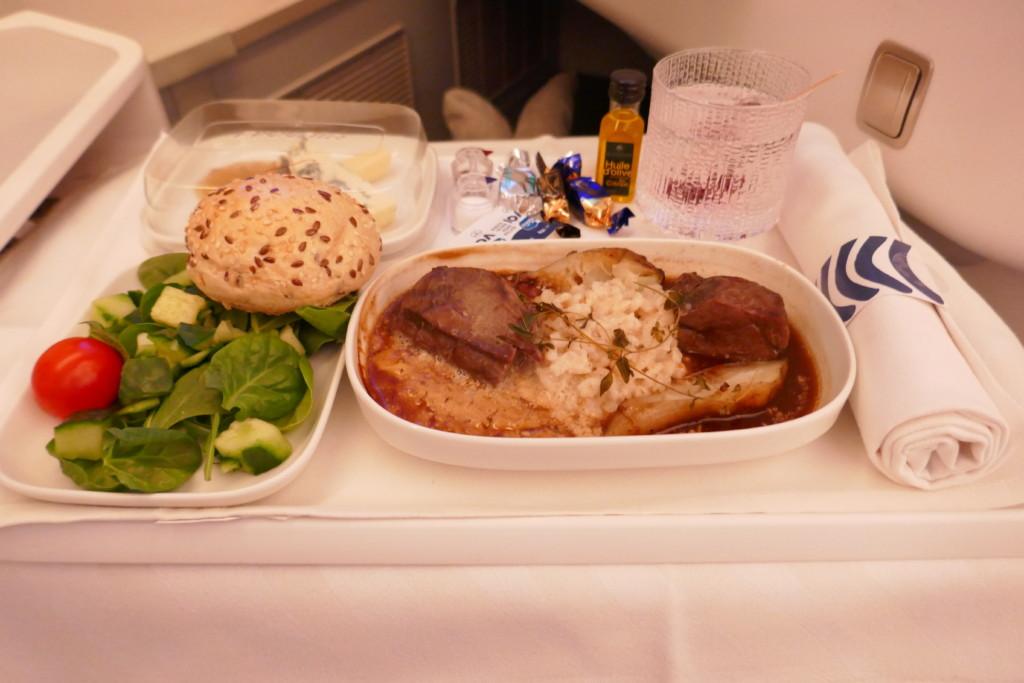 Finnair A350 chef's gourmet