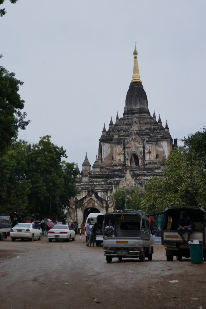 Gawdawpalin on the Bagan temple route