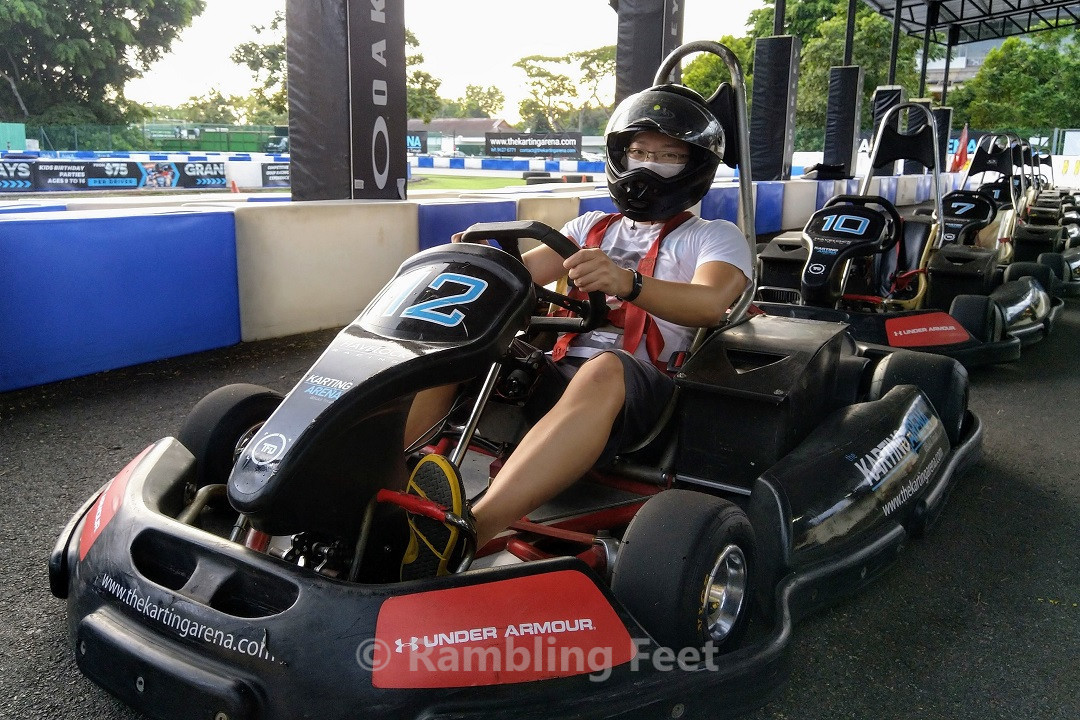 The Karting Arena electric go-kart