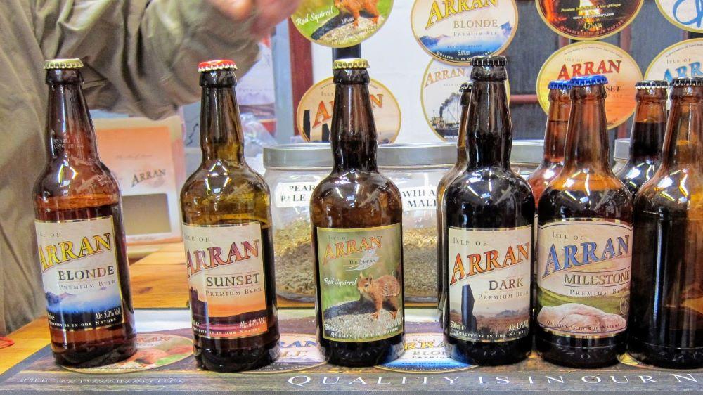 arran brewery beers