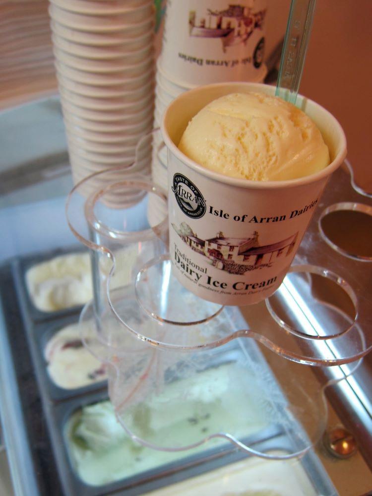 arran creamery ice-cream