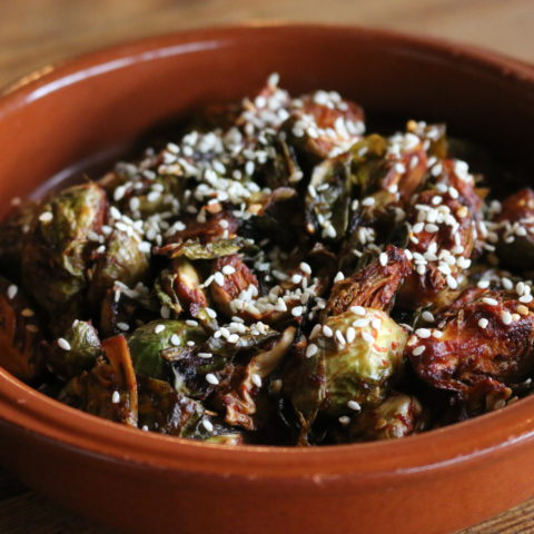 gochujang brussels sprouts
