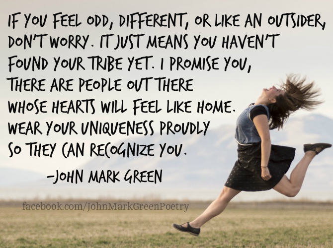 Find Your Tribe - John Mark Green