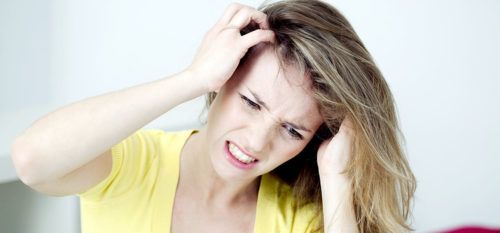 get rid of an itchy scalp