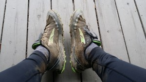 muddy trail shoes -- achieving millennial