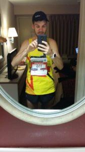 2016 glass city marathon prerace selfie -- achieving millennial