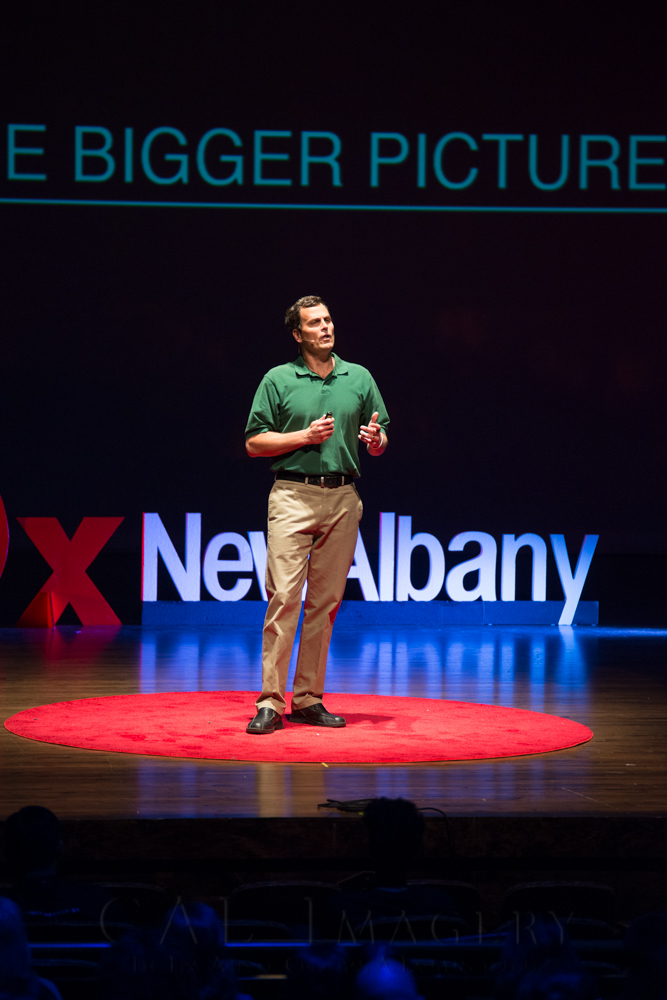 david mitchell tedx new albany -- achieving millennial