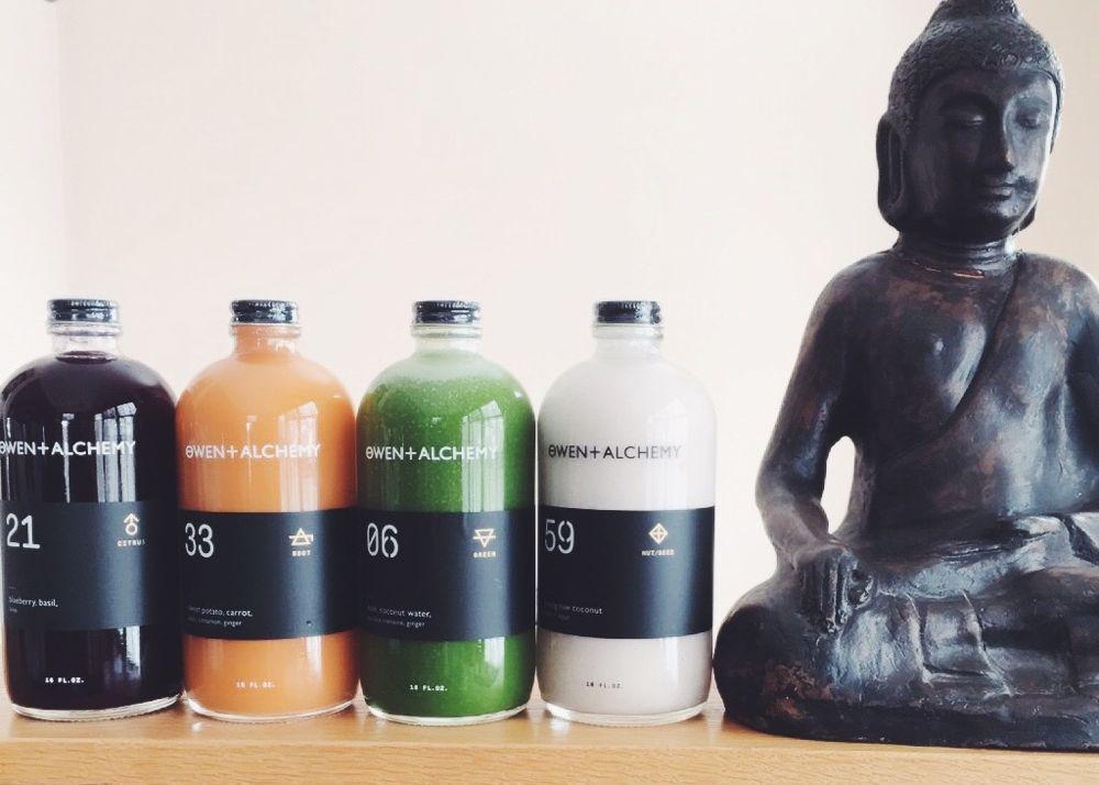 Owen + Alchemy Chicago juices