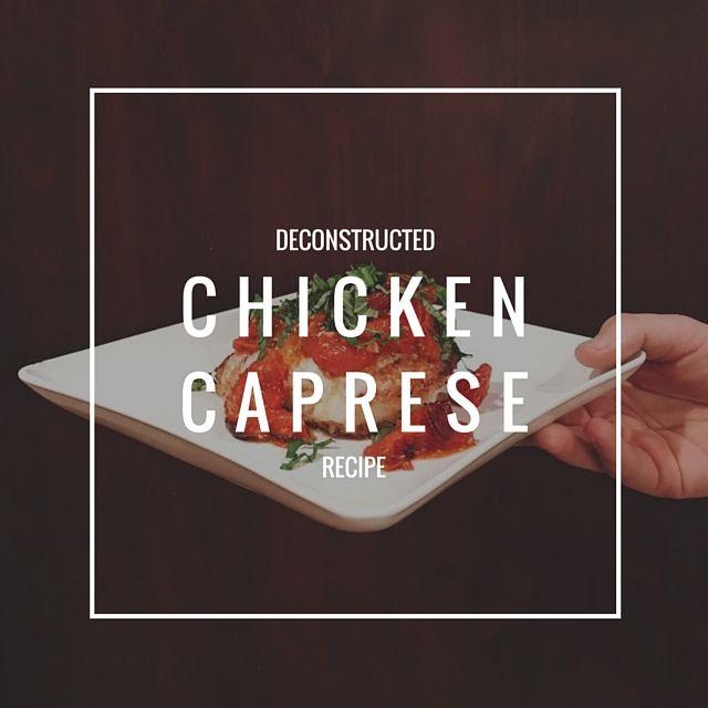 Chicken Caprese Recipe1
