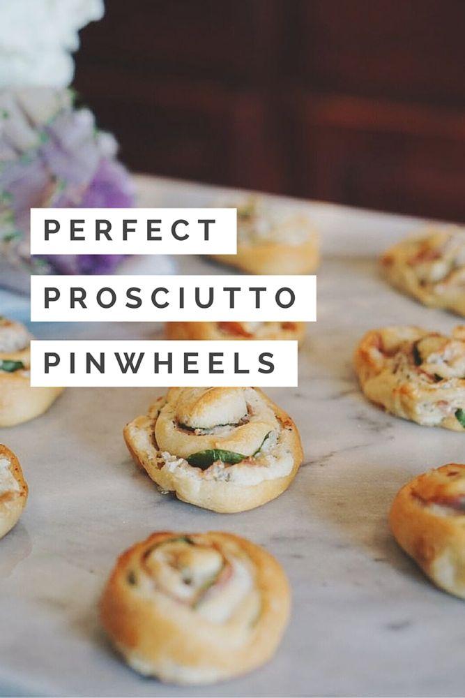 Prosciutto Pinwheels
