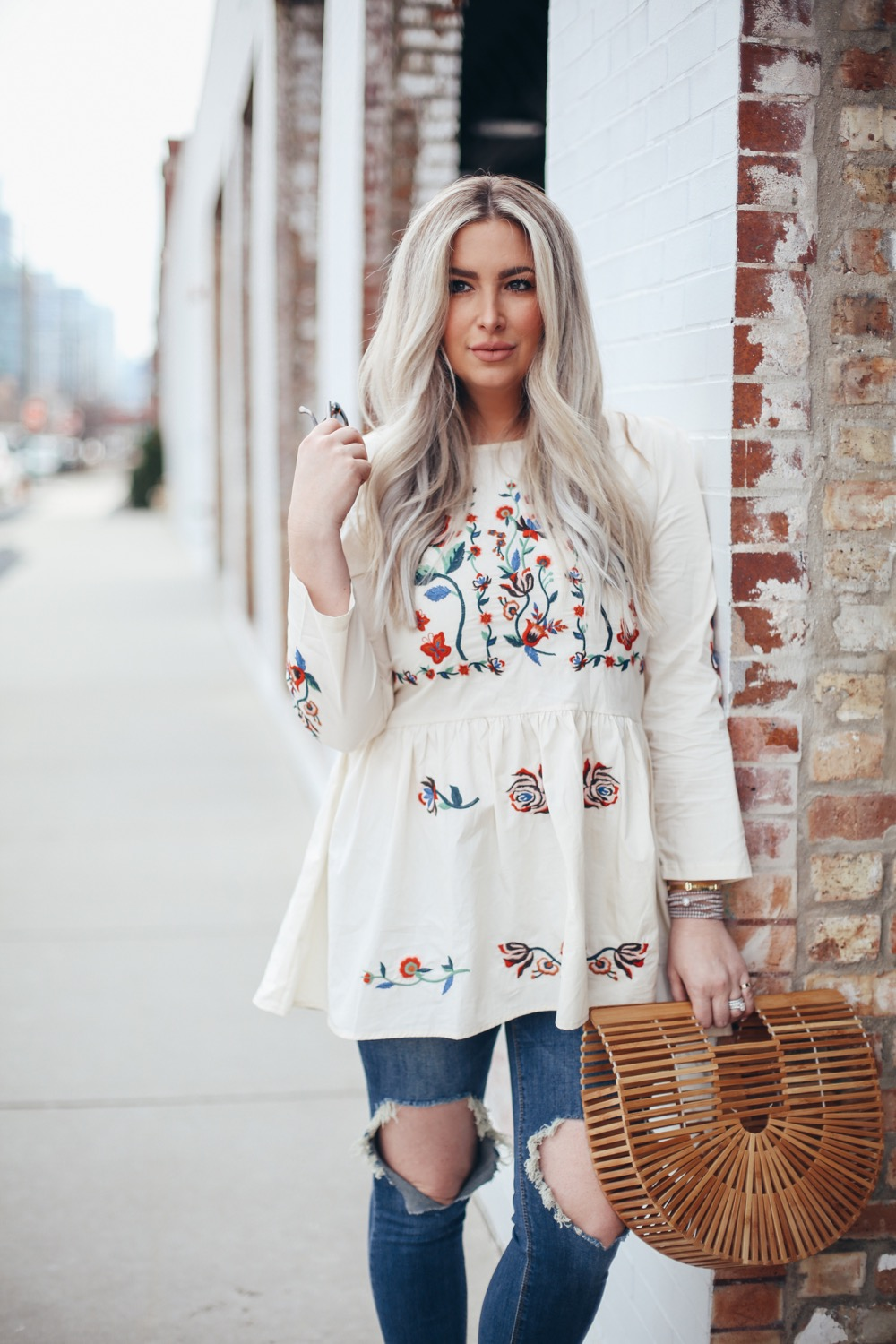 floral with edge