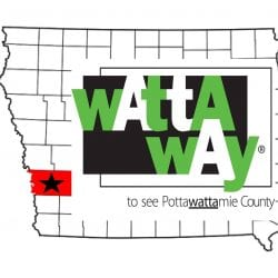 WATTA WAY to see Pottawattamie County