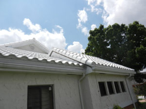 bright white tile roof broward county