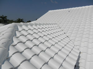 bright white tile roof pompano beach florida
