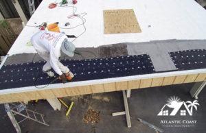 flat roof repair cap sheet