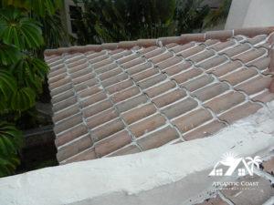prepare tile roof for waterproofing