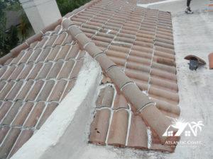 waterproofing sealing tile roof