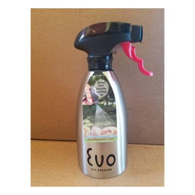 EVO Stainless Steel Oil Sprayer <br>PRICE: $27.99 <br>SKU: 400000000169