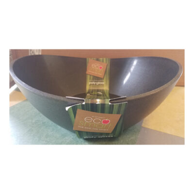 Eco-Smart Poly-Glass Black Serving/Mixing Bowl <br> PRICE: $24.95 <br>UPC: 400000002699