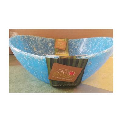 Eco-Smart Poly-Paper Blue Serving Bowl <br>PRICE: $14.99 <br>UPC: 400000002682