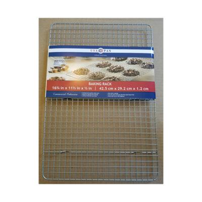 """USA Pan Baking/Cooling Rack - 16.75"""" x 11.5"""" <br>PRICE: $11.99 <Br>UPC: 400000002316"""