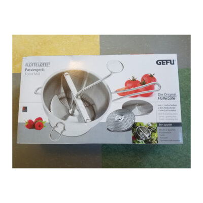 GEFU Flotte Lotte Food Mill <br>PRICE: $98.95 <br>SKU: 400000000718