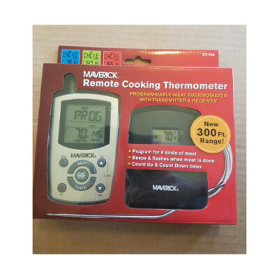 Maverick Remote Cooking Thermometer <br>PRICE: $49.99 <br>SKU: 400000002750