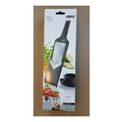 GEFU V-Slicer Adjustable Hand Mandolin <br>PRICE: $29.95 <br>SKU: 400000000732