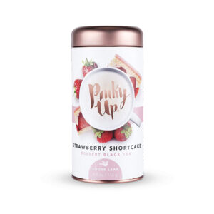 Pinky Up Strawberry Shorcake Loose Leaf Tea<br>PRICE: $10.79<br>UPC: 400000006888