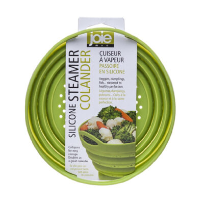 Joie Collapsible Silicone Steamer Colander <br>PRICE: $8.49 <br>SKU: 400000005058