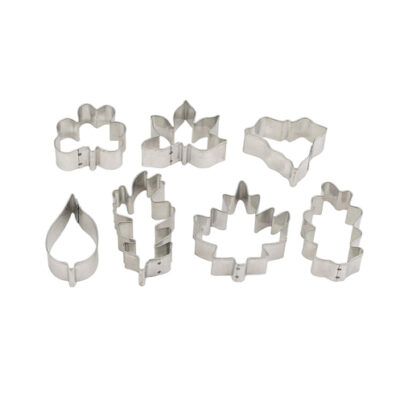 Mrs Anderson's Leaf Shape Cookie Cutters Set of 7 <br>PRICE: $15.49 <br>SKU: 400000000855