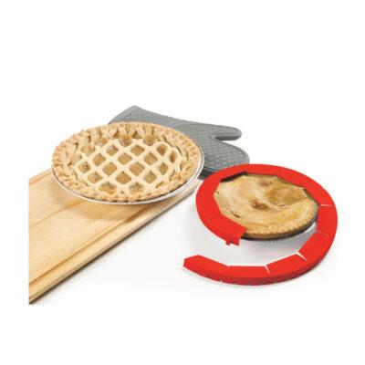 Starfrit Gourmet Silicone Pie Crust Shield <br>PRICE: $6.99 <br>SKU: 400000003306