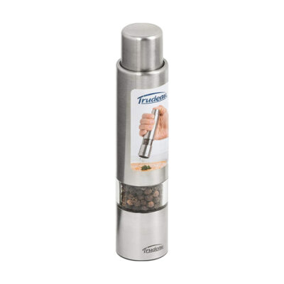 Trudeau Pepper Mill Stainless Steel <br>PRICE: $19.99 <br>SKU: 400000005454