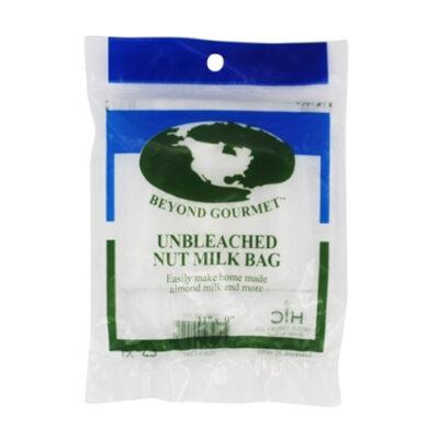 Unbleached Nut Milk Bag <br>PRICE: $4.25 <br>SKU: 400000004945
