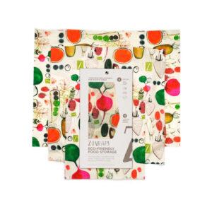 Z Wraps - Multi Size 3 Pack in 'Farmers Market'