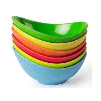 Eco-Smart Purelast Pinch Bowls Set of 6 <br>PRICE: $5.99 <br>SKU: 400000006390