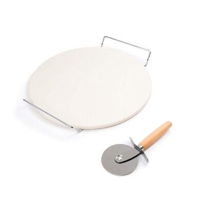 "Foxrun Pizza Stone Set 12.5"" <br>PRICE: $23.99 <br>UPC: 400000007120"