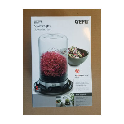 GEFU Sprouting Jar <br>PRICE: $27.95 <br>UPC: 400000000701