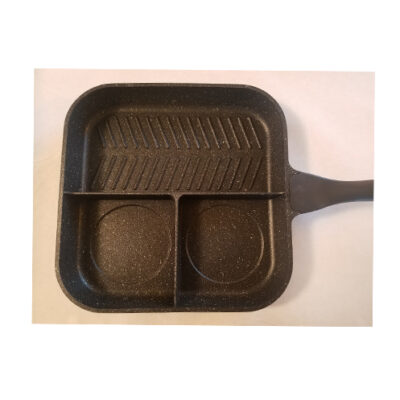 "Starfrit The Rock 3 in 1 Fry Pan 11"" x 11"" <br>PRICE: $38.49 <br>UPC: 400000003870"