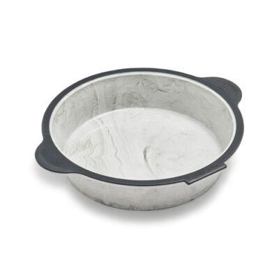 Trudeau Structure Silicone Round Cake Pan <br>PRICE: $27.99 <br>UPC: 400000005294