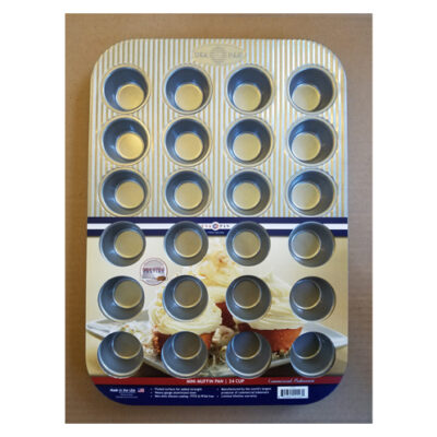 USA Pan 24 Cup Mini Muffin Pan <br>PRICE: $24.99 <br>UPC: 400000002361