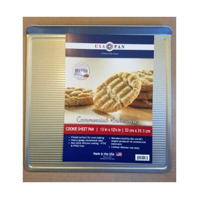 "USA Pan Medium Cookie Sheet 13"" x 12.25"" <br>PRICE: $17.99 <br>UPC: 400000002323"