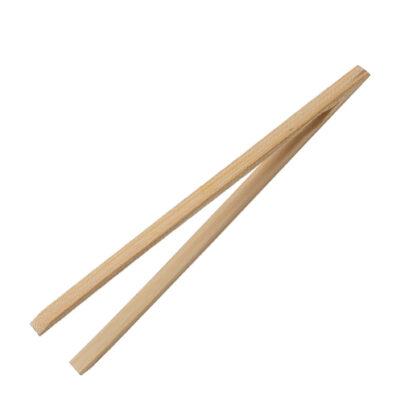 HIC - Bamboo Toast Tongs <br>PRICE: $2.99 <br>SKU: 400000005041