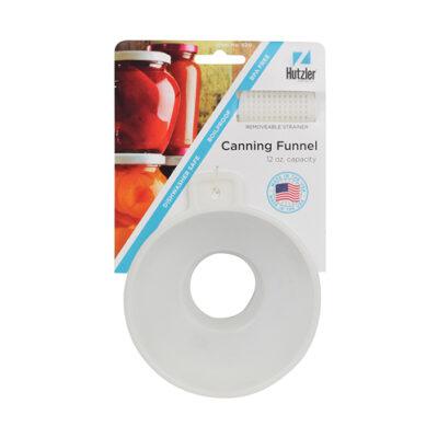 Hutzler Canning Funnel with Removable Strainer <br>PRICE: $3.49 <br>SKU: 400000004938