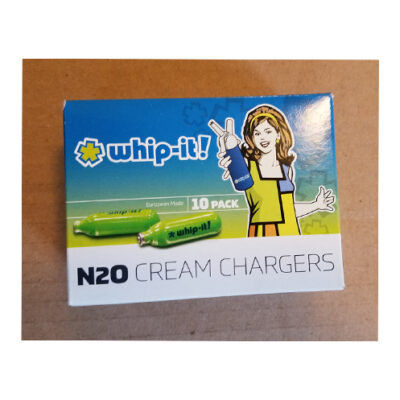 Whip-it! N2O Cream Chargers 10 pack <br>PRICE: $10 <br>SKU: 400000002262