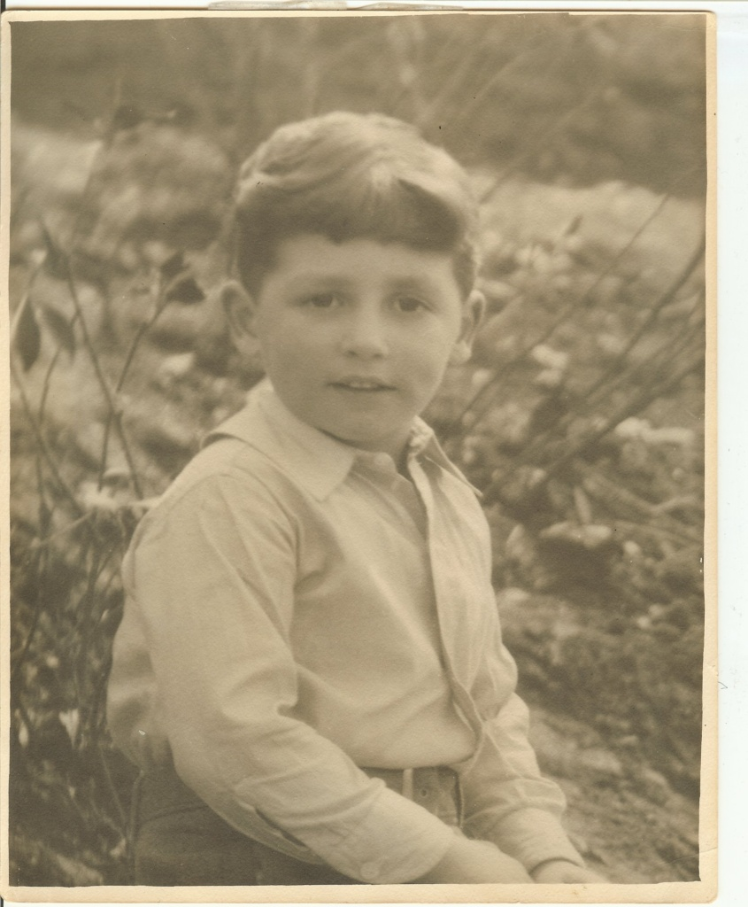 Frank J. Veith, MD Age 3-4