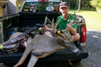 2019: Justin Ellsworth of South Glens Falls with Warren County 9-pointer taken opening day, Sept. 27.